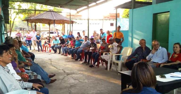 reunión de comerciantes orticeños contó con el apoyo de la cámara de comercio roscio